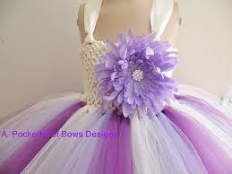 purple tulle lavender and purple flower girl dress tulle skirt