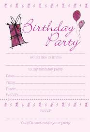 free birthday invitation templates printable tags free birthday