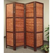 Retractable Room Divider New 28 Folding Screen Room Divider Cappuccino Wood Framed 4