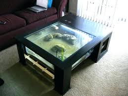how to make a dinner table fish tank dinner table best fish tank coffee table ideas on how to