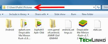 android obb how to store bluestacks obb data sdcard shared folder location in