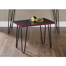 altra owen retro coffee table fingerhut altra owen retro desk and stool collection