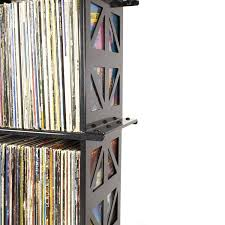 lp album storage rack 4 shelves by boltz lp storage boltz