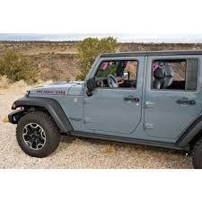 pink jeep rubicon grabars 1003p wrangler jk grab handle front rear pink set 2007