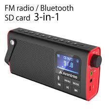 bluetooth speaker with fm radio avantree
