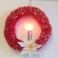 lighted christmas wreath christmas wreaths 1946 1990 ebay