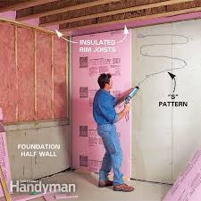 insulating basement walls with foam board how to do the right