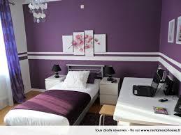 peinture violette chambre déco intérieur pourpre modernes couleurs de peinture de