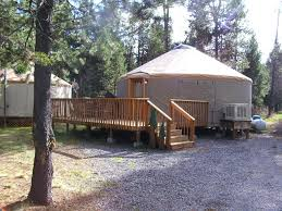 bend sunriver camping resort 24 ft yurt 16 or booking com