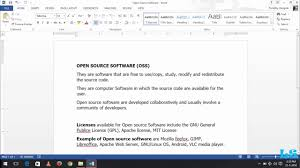 what is open source software oss categores of software youtube