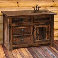 Barnwood Bathroom Vanity Reclaimed Wood Furniture Cabin Place