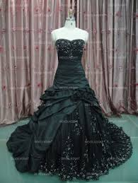 gothic wedding dresses black wedding dresses custom alternative