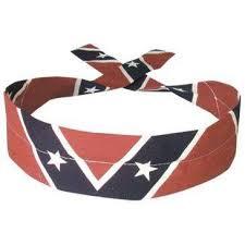 cooling headband rebel confederate flag cooling crystals cooldanna headband at