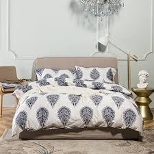 Damask Print Comforter Damask Medallion Luxury Duvet Quilt Cover Boho Paisley Print