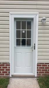 exterior door with blinds between glass entrance doors doormasters inc