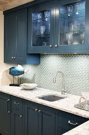 Best Kitchens Painted Cabinets Images On Pinterest Kitchen - Navy kitchen cabinets