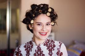 husband forced to sleep in hair rollers used wine corks in place of hair curlers and the results were
