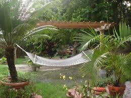 Hammock Backyard Relax With Home Improvements Like A Hammock