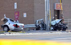 crash kills driver splits car in half in mississauga toronto star