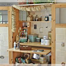 Craft Room Cabinets Ikea Cabinet Turned Craft Center Hometalk