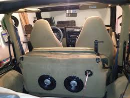 back of a jeep pioneer low profile sub or any other jeep wrangler forum