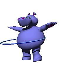 hipopotamo gifs animados animales