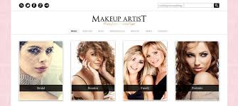 professional makeup artists websites 11 best makeup artists themes designyep
