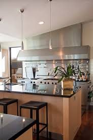 Kitchen With Stainless Steel Backsplash Kitchen Backsplashes Modern Rustic White Kitchen Farmhouse Table