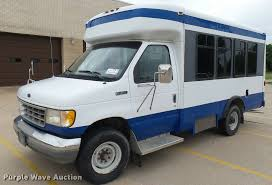 1994 ford econoline e350 collins shuttle bus item da7899