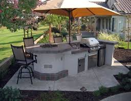 Backyard Hibachi Grill Outdoor Kitchen Pictures Gallery Landscaping Network