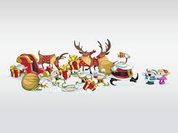 funny christmas characters vector art u0026 graphics freevector com
