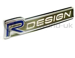 volvo new logo volvo r design grille emblem badge 30695855 new original