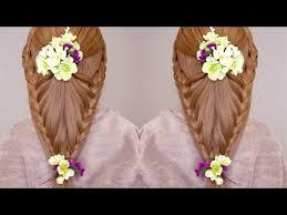 flower hair basket of flowers hair tutorial