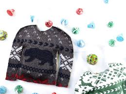 Christmas Sweater Party Ideas - ugly christmas sweater treat bags make life lovely