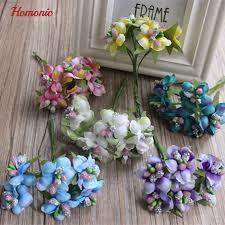Artificial Flowers Cheap Bead Flowers Diy Artificial Flowers Cheap Mini Flowers Lot Plum