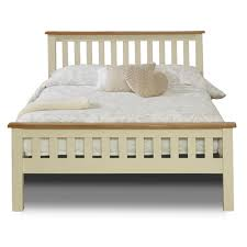 buy birlea new hampshire cream and oak high end bed frame online