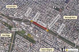 Mta Map Mta To Deck Over A 4 Acre Stretch Of Brooklyn Rail With Mixed Use