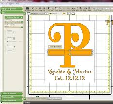 What Is Cricut Craft Room - the non crafty crafter cricut ccr making a split letter monogram