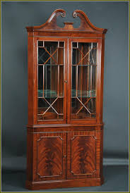 Antique Corner Curio Cabinet Curio Cabinet Curio Cabinet Incredible Corner Plans Photoing For