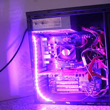 Neon Led Lights 40cm 5050smd Led Pc Computer Case Strip Light