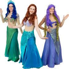 Mermaid Halloween Costume Adults Mermaid Costume Rentals