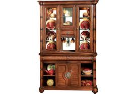 cindy crawford home key west tobacco 2 pc china cabinet china
