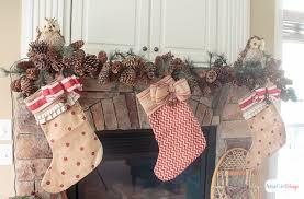 vintage rustic christmas mantel decorations atta says