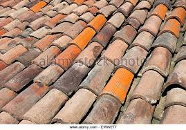 Terracotta Tile Roof Weathered Terracotta Roof Tiles Stock Photos U0026 Weathered