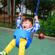 siege de balancoire pour bebe en plein air en plastique panier suspendu balançoire pour bébé