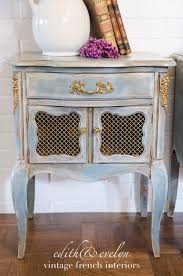 transforming french nightstands mia colore paint edith
