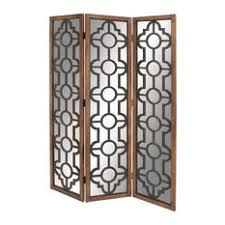 Mirror Room Divider Mirrored Screens And Room Dividers Houzz