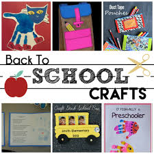 back to preschool crafts moms without answers