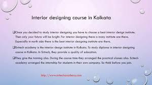 interior designing course in kolkata sritech academy youtube