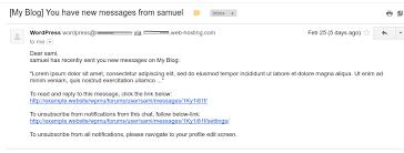 bbpress messages plugins